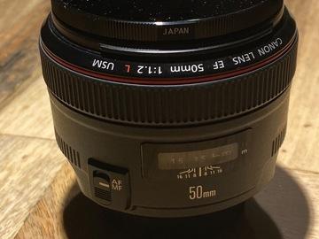 Rentals: Canon 50mm f/1.2 AF+ND Filter
