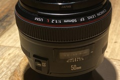Rentals: Canon 50mm f/1.2 AF+ND Filter