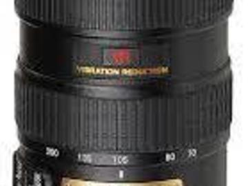 Rentals: Nikon AF-S Nikkor 70-200mm F/2.8G ED VR I