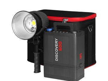 Rentals: Jinbei Discovery 600 Blitzset mit 2 Blitzköpfen + Reflekoren