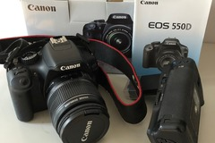 Sell: Canon EOS 550D camera with kit objective EF-S 18-55mm