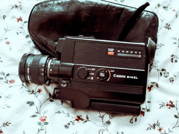 Rentals: Canon 514XL Super 8 Camera with Canon Zoom lens C-8