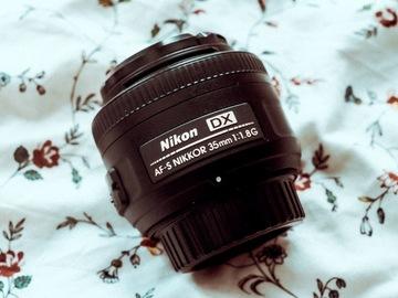 Vermieten: Nikon Nikkor AF-S 35mm lens F:1.8