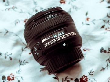 Rentals: Nikon Nikkor AF-S 50mm lens F:1.8