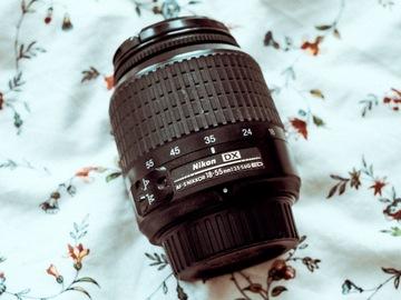 Rentals: Nikon Nikkor AF-S 18-55mm lens F:3.5