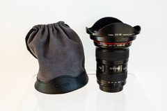 Rentals: Zoom lense Canon EF 16-35 f/2.8L II USM + bag + UV filter