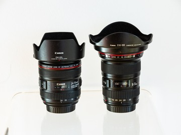 Rentals: EF 16-35 f/2.8L II USM + EF 24-70mm f/4L IS USM + UV filters
