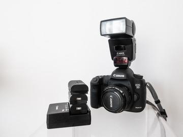 Rentals: Canon 5D MarkIII BUNDLE flash 420EX + EF 50 f1.8 + batteries