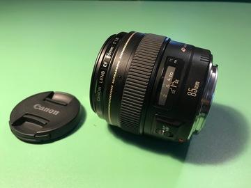 Rentals: CANON EF 85 mm f/1.8 USM, EF