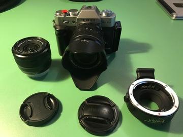 Rentals: Fuji XT20 mit Fujinon 18-55mm f2,8 und Fujinon 15-45mm
