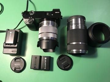 Rentals: Sony Alpha 6000 + Sony SEL-15-55 mm  + Sony SEL 55-210 mm