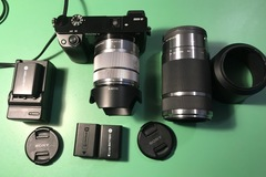 Rentals: Sony Alpha 6000 + Sony SEL-15-55 mm  + Sony SEL 55-210 mm