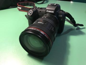 Rentals: Canon EOS R 30,3 MP mit Adapter + Objektiv 24-70 L USM