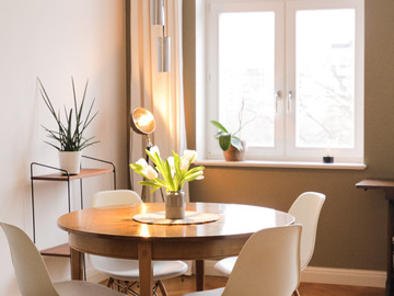 Studio/Spaces: Minimalistic super bright apartment with amazing view