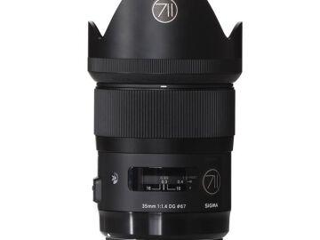 Rentals: Canon Lens Sigma Art 35mm 1,4 DG HSM