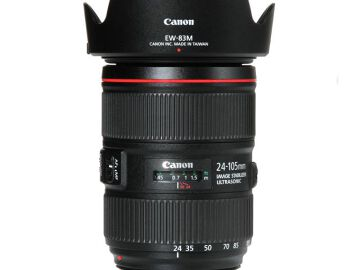 Rentals: Canon Lens EF 24-105mm 4,0 L IS II USM