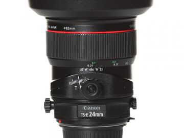 Rentals: Canon Lens TSE 24mm 3,5 Shift LII