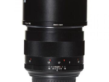 Rentals: Canon Lens Zeiss ZE 1,4/85mm