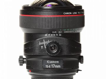 Rentals: Canon Lens TSE 17mm 4,0 Shift L