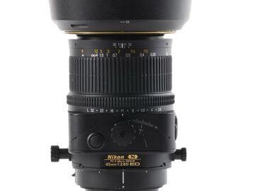Rentals: Nikon Lens PC-E Micro Nikkor 45mm f/2.8D ED