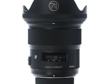 Rentals: Nikon Lens Sigma Art 24mm 1,4 DG HSM