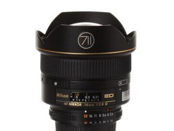 Rentals: Nikon Lens AF Nikkor 14mm 1:2,8D ED