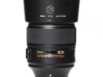 Rentals: Nikon Lens AF-S Nikkor 105mm 1,4 E ED