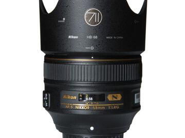 Rentals: Nikon Lens AF-S Nikkor 58mm 1:1,4G