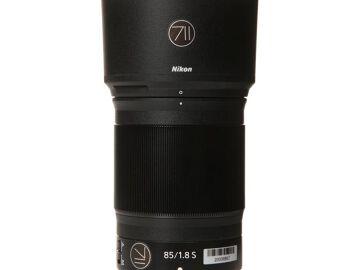 Rentals: Nikon Lens AF Nikkor Z 85mm 1,8 S