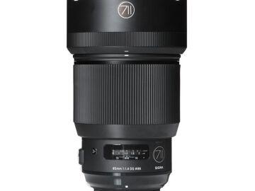 Rentals: Nikon Lens Sigma Art 85mm 1,4 DG
