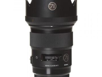 Rentals: Nikon Lens Sigma Art 50mm 1,4