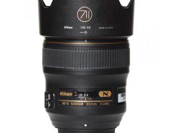 Rentals: Nikon Lens AF-S Nikkor 35mm 1,4G
