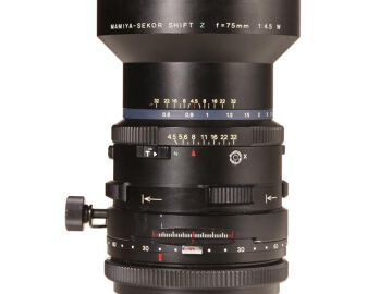 Rentals: Mamiya RZ Lens Sekor-Z  75mm 4,5 Shift