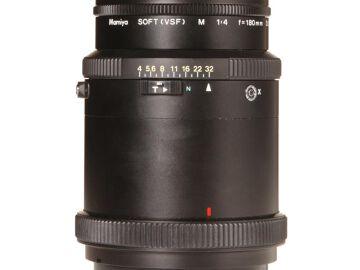 Rentals: Mamiya RZ Lens Sekor-Z 180mm/4,5