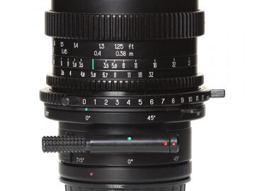 Rentals: Phase One Lens  45mm 3,5 MF TS