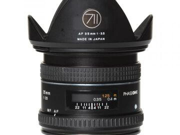 Rentals: Phase One Lens  35mm 3,5 AF