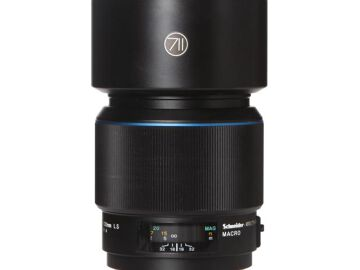 Rentals: Phase One Lens 120mm 4,0 AF LS Macro Blue ring