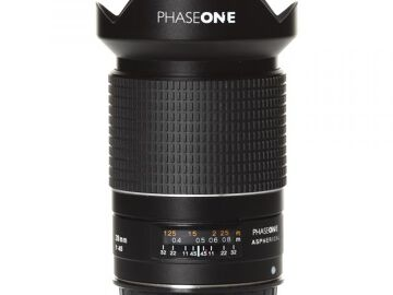 Rentals: Phase One Lens  28mm/4,5 AF