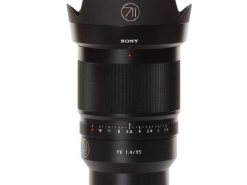 Rentals: Sony Lens Distagon T* FE 35mm F1,4 ZA