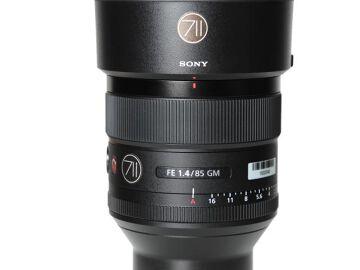 Rentals: Sony Lens FE 85mm F1,4 GM