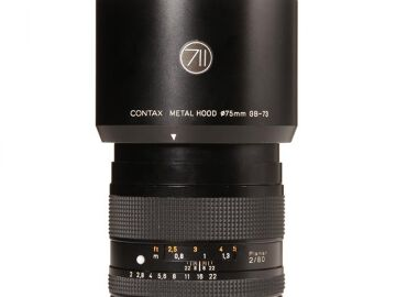 Rentals: Contax 645 Lens  80mm /2,0 Planar