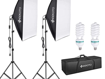Rentals: GEEKOTO Softbox set 50x70cm