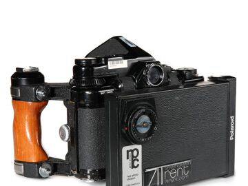 Rentals: Pentax Body with Polaroidback and viewfinder