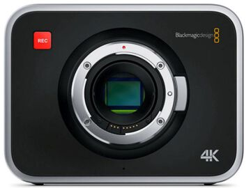Rentals: Blackmagic Production Camera 4K EF