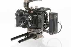 Rentals: Blackmagic 6K Set with Cage and T5 SSD