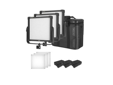 Rentals: 3 x LED-Fläche Bi-Color