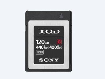 Rentals: 120 GB Sony XQD Speicherkarte