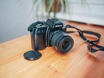 Rentals: Nikon F70 Analog mit Objektiv 35-80mm 1/4 (1994)