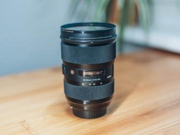 Rentals: Sigma 24-35 mm / F 2.0 DG HSM A für Canon