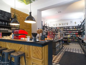 Studio/Spaces: Bookshop & Espresso Bar